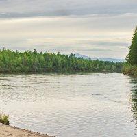 Река уходит на запад :: val-isaew2010 Валерий Исаев