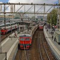 Куда уходят поезда :: Ирина Шарапова