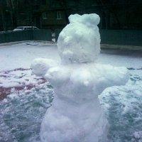 а за осенью приходят снежные бабы :: МИХАИЛ КАТАРЖИН