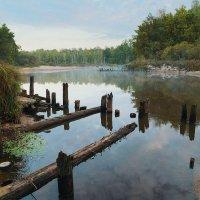 Ушла вода, обнажила берега... :: Юрий Морозов