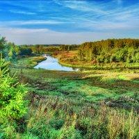 Изгиб реки :: Андрей Куприянов