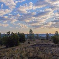 Облака утром :: Юрий Стародубцев