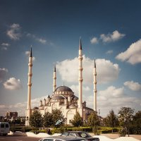 Мечеть, г. Грозный :: Алексей Гордиенко