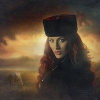 На закате :: Надежда Шибина