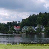 Отели у озера Саранак (США) :: Юрий Поляков