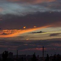 Балконный закат :: Владимир