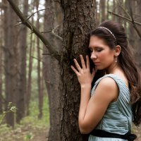 Forest nymph :: Aleksandra Rastene