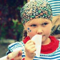 Моя дочка - именинница и главная пиратка :: Полина Бесчастнова