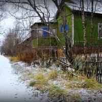 Старые домики. :: Николай Емелин