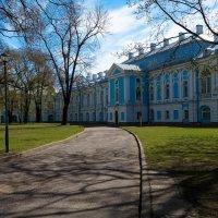 Во дворе Смольного собора :: Олег Козлов