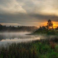 Рассвет на озере. :: Andrei Dolzhenko