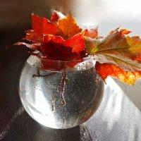 Этюд с кленовыми листьями :: Елена Макарова