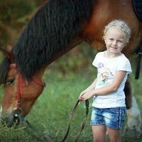 "Проект ""Моя любимая лошадка"" :: Оксана Зарубина"