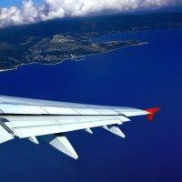 Под крылом самолета :: Максим Сорокин