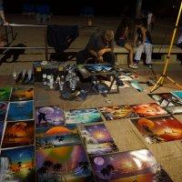 Уличный художник, Испания :: Оксана Ветрова
