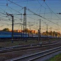Железные дороги  страны :: Татьяна Кретова