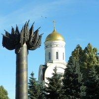 На Поклонной горе. :: Oleg4618 Шутченко