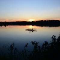 потонувший на закате ... :: Svetlana AS