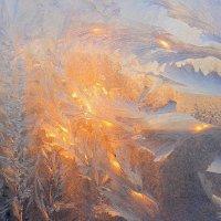 Морозное окно :: Галина Стрельченя