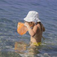 Охотница за медузами :: Елена Колмыкова