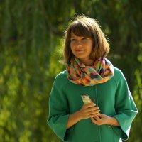 Портрет в зеленых тонах :: Igor Khmelev