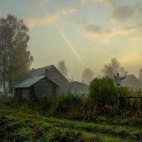 Сентябрьское утро в деревне... :: Федор Кованский