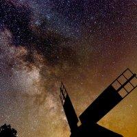 Млечный Путь и старая мельница :: ViP_ Photographer