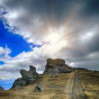 Ангарский перевал. Долина привидений. Демерджи. Крым :: Ирина Руденко
