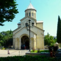 Тбилиси. Церковь Анчисхати ( Церковь Святой Марии, 6 век). :: Игорь