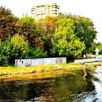 Панорама р.Мухавец :: Vadzim Zycharby