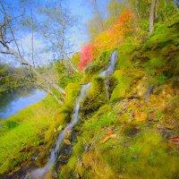 Осенний водопадик :: Дак -