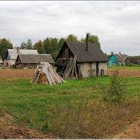 Осень.Сельский пейзаж. :: Роланд Дубровский