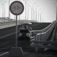 А за мостом.... :: Елена Карманчикова