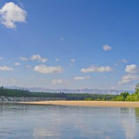 Пляжи Верхней Ангары :: val-isaew2010 Валерий Исаев