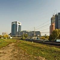 Москва Сити, тыл :: Ольга Маркова