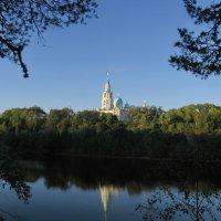 Спасо-Преображенский монастырь (вид через Монастырскую бухту) :: Сергей Яруллин