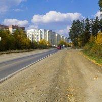 Въезд в родной город :: Алексей. Бордовский