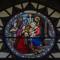 Витраж в храме Рождества Христова. Иерусалим :: Александр Лядов
