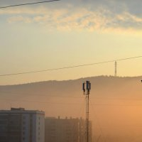 Дымчатое утро :: Анастасия Попкова