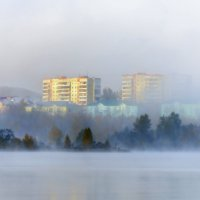 Сегодня был туман :: Вячеслав Овчинников