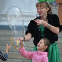 Шоу мыльных пузырей :: Marina Timoveewa
