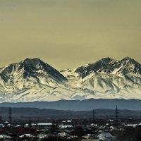 горы Манас и Джолой Киргизский АЛА-ТОО :: Дмитрий Потапкин