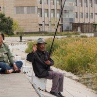Китайский рыболов :: Сергей Сол