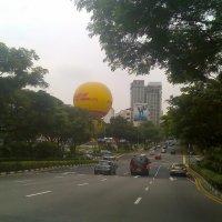 Атракцион - воздушный шарик :: Анна