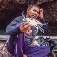 Тайский рыбак :: Ксения Базарова