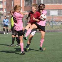 Девушки, которые играют в футбол. :: Вячеслав