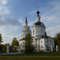 Церковь Успения Пресвятой Богородицы в Большом Болдино :: Наиля