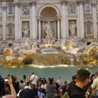 Знаменитый фонтан Треви.Рим. :: Жанна Викторовна