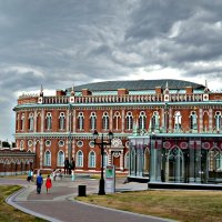 Царицынский парк, Москва :: Анастасия Фадеева