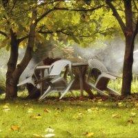 В саду моём хозяйничает осень..... :: Елена Kазак